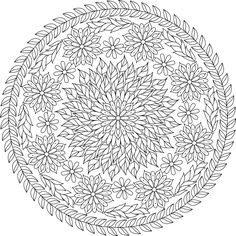 Julius Caesar was kidnapped in 75 BC on his way back to Rome. Pirates held him captive in what is now Turkey for 38 days. Initially they set their ransom d Flower Coloring Pages, Mandala Coloring Pages, Coloring Book Pages, Mandala Design, Mandala Art, Free Adult Coloring, Printable Coloring Sheets, House Drawing, Art Pages