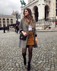Winter outfits with few clothes, so as not to look like a spring onion . - Winter outfits with few dresses, so as not to look like a spring onion - Paris Outfits, Winter Fashion Outfits, Mode Outfits, Fall Winter Outfits, Look Fashion, Autumn Winter Fashion, Street Fashion, Casual Outfits, Womens Fashion