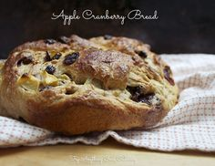 Apple cranberry bread is packed with apples and dried cranberries, singing culinary harmony with pumpkin pie spice. You'll want to try this!