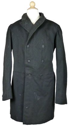 Wool frock coat 1860-1880