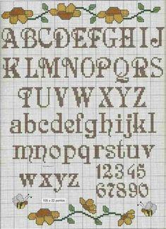 Cross Stitch Letter Patterns, Xmas Cross Stitch, Cross Stitch Letters, Cross Stitch Art, Modern Cross Stitch, Cross Stitching, Cross Stitch Embroidery, Stitch Patterns, Embroidery Monogram