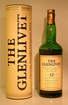 One day, I will go to Glenlivet's distillery...