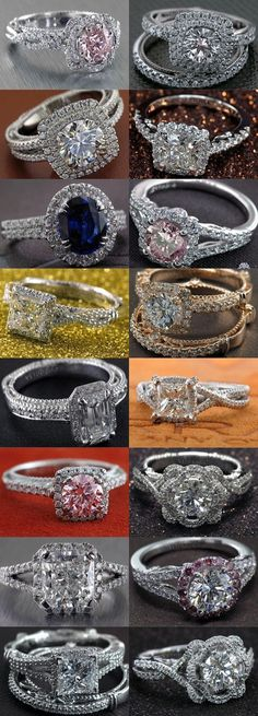 Diamond Rings vintage engagement rings and wedding rings Wedding Rings Vintage, Vintage Engagement Rings, Vintage Rings, Wedding Jewelry, Wedding Bands, Engagement Jewelry, Wedding Reception, Engagement Bands, Bridal Jewellery