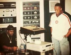 Lord Finesse and Dr. Dre