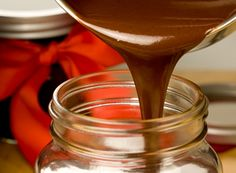 HERSHEY'S Favorite Chocolate Gift Sauce!!!! Make this and take along some ice cream for a fun gift!