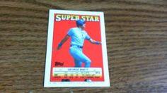 TOPPS 1988 SUPER STAR SMALL CARD GEORGE BRETT CARD 41  TEAM ,