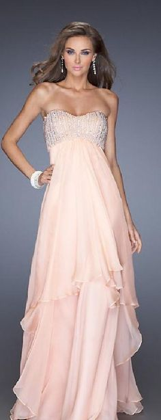 Sexy A-Line Long Sweetheart Empire Pink Evening Dresses klkdresses16542xde #longdress #promdress