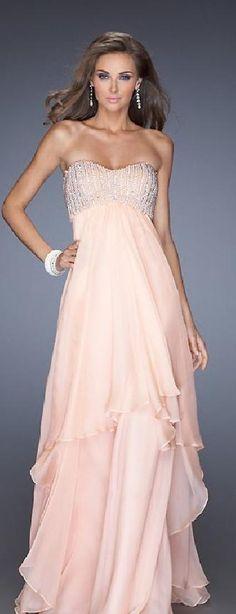 Sexy A-Line Long Sweetheart Empire Pink Evening Dresses klkdresses16542xde #longdress #promdress