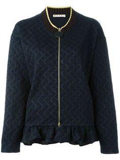 ruffle hem bomber jacket $1,124 #TodaySale #cute #ReviewsClothing
