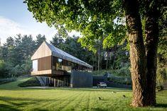 Wauw! Houten villa. Via Ralf van Tongeren (Architect, Houten NL)