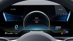 Multifunction display of the Mercedes-AMG A 35 AMG Instrument Cluster. Automotive News, Automotive Design, Automotive Decor, New Mercedes Amg, Car Ui, Windshield Washer, Smart Car, Automotive Photography, Performance Cars
