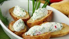 recipe_for Tavaszi burgonya Kefir, Baked Potato, Mashed Potatoes, Baking, Ethnic Recipes, Yogurt, Red Peppers, Bread Making, Patisserie