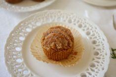 recette sans gluten de muffins poire et citron