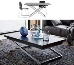 rubi adjustable table h40/76½ x w70/140 x d120cm #boconcept