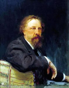 Портрет А. К. Толстого. 1896. Илья Ефимович Репин