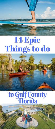 14 Epic Things to do in Gulf County Florida Source by susanportnoy Visit Florida, Florida Travel, Travel Usa, Florida Living, Florida Usa, South Florida, Travel Guides, Travel Tips, Travel