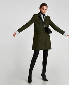 Image 7 of MASCULINE COAT from Zara