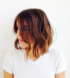 simple hair styles for everyday gorgeous locks on hair bangs and bobs 5572 | 5572e130e330168c11f4f19bdd5adf8f