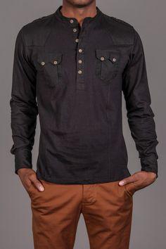2 Pocket Henley Shirt