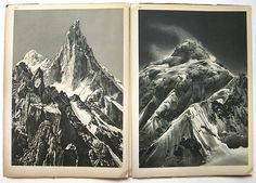 Images De L'Himalaya by Italian photographer and mountaineer Vittorio Sella (1859-1943).