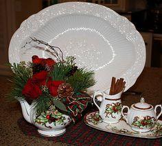 Beaux R'eves: Christmas Floral Arrangements