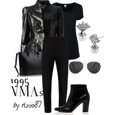 """""""1995 VMA's"""" by rizzo87 on Polyvore"""