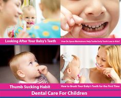 #Dental_Care For #Children @ Webdentist.in  The seeds of any good habits need to be sown from childhood. Oral hygiene is no different. Care can start even before the first tooth erupts into the mouth. Find out how plaque affects your baby's teeth and gums. Learn proper techniques of brushing & flossing your kid's teeth to prevent dental complications. Follow the advice given here and your child will know how to take care of their pearly whites for life.