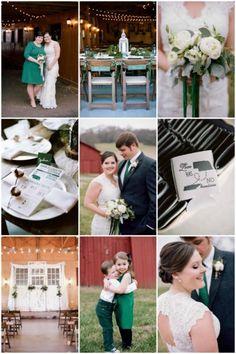 Rustic Winter Wedding in a Barn | Jenna Henderson Photography | Bridal Musings Wedding Blog 3