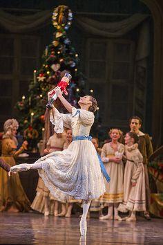 "<<Francesca Hayward as Clara in Peter Wright's production of ""The Nutcracker"" # The Royal Ballet, 2015 # Photo © Tristram Kenton>>"