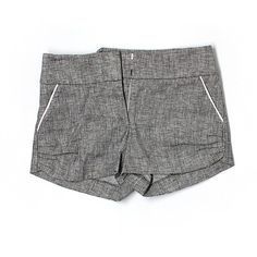 Pre-owned Bebe Dressy Shorts (€13) ❤ liked on Polyvore featuring grey and bebe