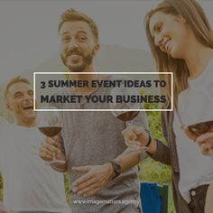 Do you want to meet new potential customers? Why not hold a summer event to introduce them to your sales people and put a face to the brand? Digital Marketing Strategy, Online Marketing, Social Media Marketing, Digital Review, Sales People, Summer Events, Seo, Improve Yourself, Web Design