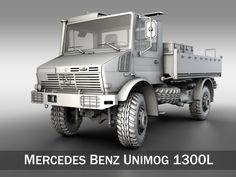 Royalty free Mercedes Benz Unimog U1300L 3D Model by Panaristi. Available formats: c4d, max, obj, fbx, stl, ma, lwo, 3ds, 3dm - 3DExport.com