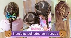 trenzas para niñas ile ilgili görsel sonucu