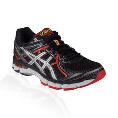 Asics - GT 2000 V2 Running Shoe - Black/Lightning/Red Pepper