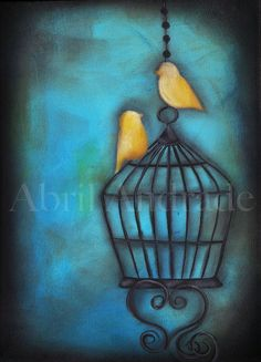 """""""Our Love is Free"""" Original Painting $75.00"""