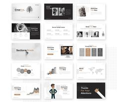 Creative Powerpoint Template | Pixelify | Best Free Fonts, Mockups, Templates and Vectors.