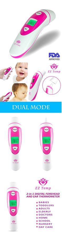 Baby Thermometers 117026: Thermometer Ez Temp Digital Dual Mode Fda Approved Medical Temperature Measure -> BUY IT NOW ONLY: $37.41 on eBay!