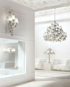 The Home and light II collections are wide with many different styles to respond to any kind home requirements.The Versailles Chandelier is the Villari's iconic Chandelier