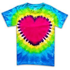 Short Sleeve Handcrafted Tie Dye T Shirts Heart Love Men Women Unisex Size L Hippie Men, Hippie Pants, Boho Pants, Flowy Pants, Beach Pants, Hippie Boho, Harem Pants, Men And Women, Pants For Women