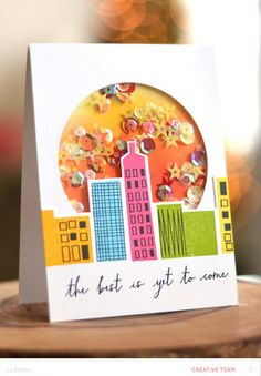 Make a Shaker Card | JJ Bolton at @studio_calico