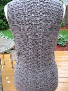 Crochet Pattern Meadows Vest with Matching by nutsaboutknitting
