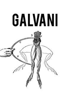 appropriation of Luigi Galvani's experiment on frog leg's