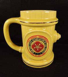 Fire Chiefs Mug Stein New York State 75th Annual Conference 1981 Commemorative #steinmug