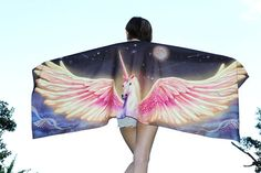 And this totally badass Unicorn/Pegasus scarf. | 26 Magical Unicorn Things You Need In Your Life
