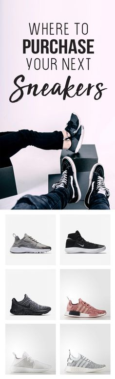 the best places to find fashionable sneakers. #fashion #shoes #trendy