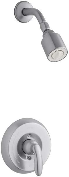 Kohler K-T15611-4G Coralais Single Handle Shower Valve Trim Only with Metal Leve Brushed Chrome Faucet Shower Only Single Handle