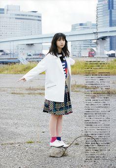 HKT48 Natsumi Matsuoka Somewhere Outside Tokyo on UTB Magazine - JIPX(Japan Idol Paradise X)