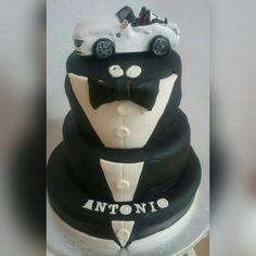 Smoquin tarta, tuxedo cake