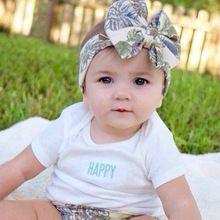 1 PC natal do bebê meninas Bowknot Floral Hairband cabeça turbante de cabeça Headwear faixa de cabelo acessórios 01(China (Mainland))