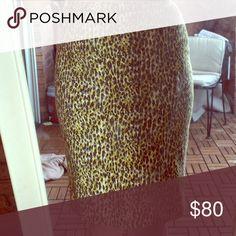 Jcrew leopard Leopard pencil Jcew skirt perfect condition J. Crew Skirts Pencil